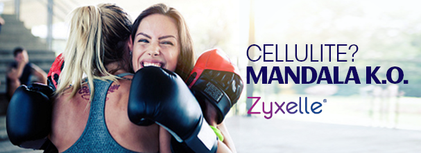 Eliminare la cellulite con Zyxelle